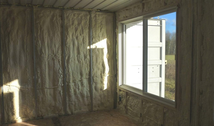 How to insulate a container home