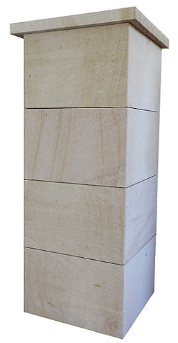 Stone columns - pillars - posts for fencing and walls