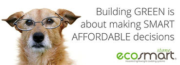 Smart siding and cladding materials save energy when building green