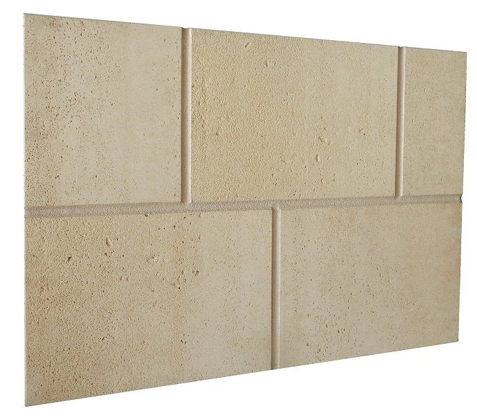 Limestone cladding veneer stone for wall siding