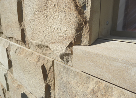 Stone Wall Cladding Accessories Sandstone Veneer Stone