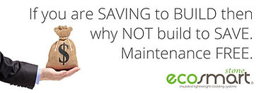 Green building materials offers energy savings for the life of the building