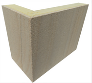 Walling stone corners for stone cladding and wall siding