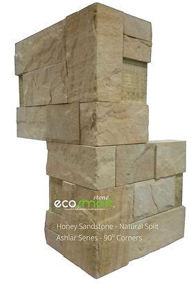 Smart Stone Systems - Ashlar Sandstone Cladding Corners