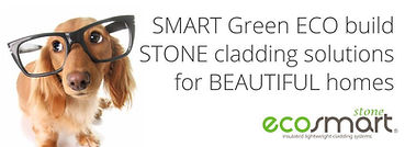 Green homes can be built with eco build solutions stone cladding veneer