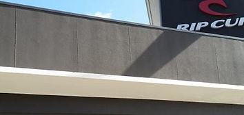 EIFS polystyrene render with jointing exposed
