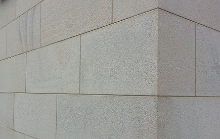 Fire resistant and fire proof wall cladding facade stone