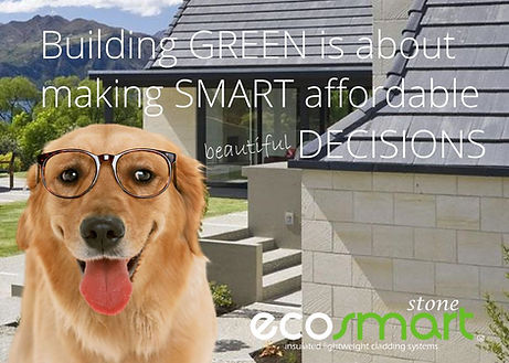 Green eco wall cladding can result in beautiful buildings that you can afford