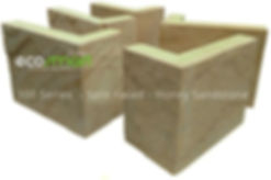 Smart Stone Systems have real sandstone cladding cornered