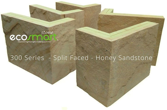 Veneer Stone Cladding Fabricated Corners - Lightweight Insulated Wall Siding Systems