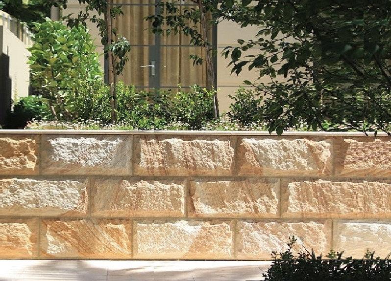 Retaining Walls - Construction - Stone - Sandstone - Basalt - Blue Stone