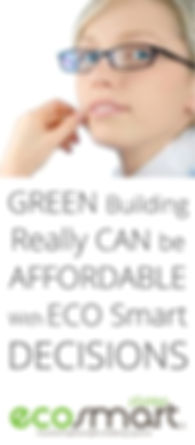 Energy efficient building results from eco smart wall cladding choices