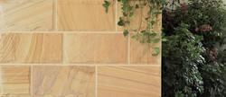 Honey Beige Sandstone Split Bolster