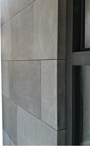 Bluestone basalt wall cladding veneer - lightweight insulated siding