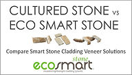 See how easier it is to install Eco Smart Stone Cladding Veneer compared to Eco Smart Stone Veneer Cladding