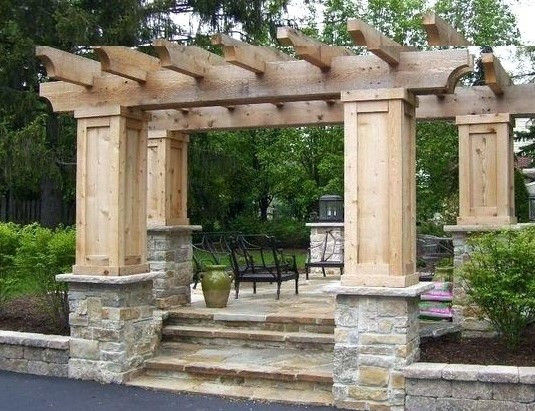 Stone wall piers, pillars, posts and columns. Veranda posts and feature wall columns. Wall cladding and Siding