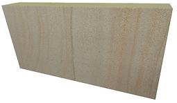 Body stone for fireproof facades and wall cladding