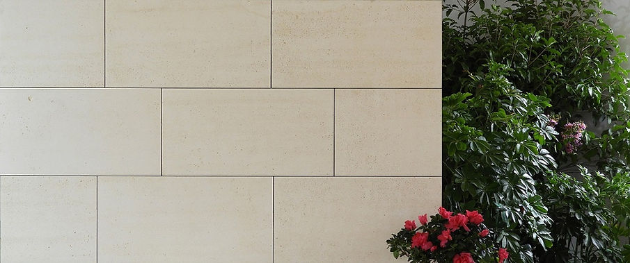Reconstituted Limestone Cladding Stone - Ventilated and Rainscreen Facades