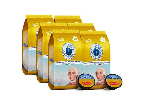 Caffe Borbone Dolce Gusto Compatible Espresso Capsules (Miscela Gold) - 90/CS