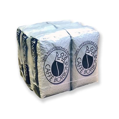 Caffe Borbone Beans (Blue) - Whole Bean Coffee 6/1 KILO Bags Per Case