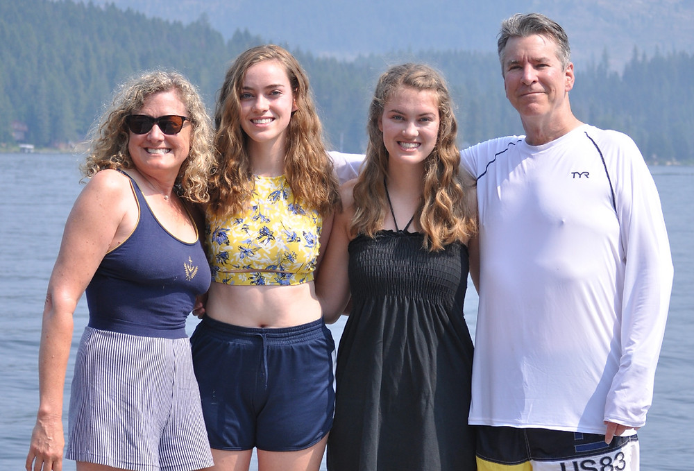 The Stewarts at Priest Lake