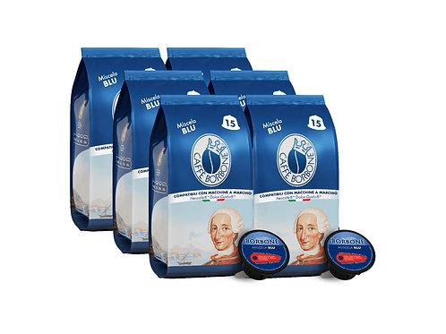 Caffe Borbone Dolce Gusto Compatible Espresso Capsules (Miscela Blue) - 90/CS