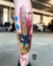 цветная татуировка в екатринбурге