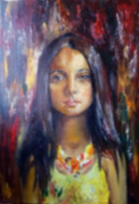 Цыганка маслом эскиз, графига, гравюра, в карандашах, цветные карандаши, искусство, рисование