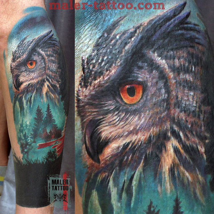 "Сова на Гарике""_2016  #owl #силатату #tattoo #tattoos #inksociety #tattooed #сова #art #тату #татуировка #татуировкаекатеринбург #malertattoo #ink #like4like #малертату #eternalink #tattoorussia #tattoopower #instagram #tattoostudio #love #ekb #tattoolife #ekbtattoo #tattooist #cheyennetattooequipment #inktattoo #hawkpen"