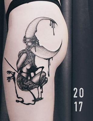 Каталог татуировок в графике 2017