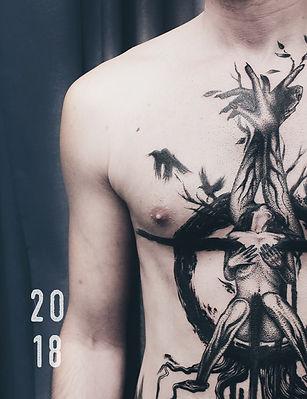 Каталог татуировок в графике 2018