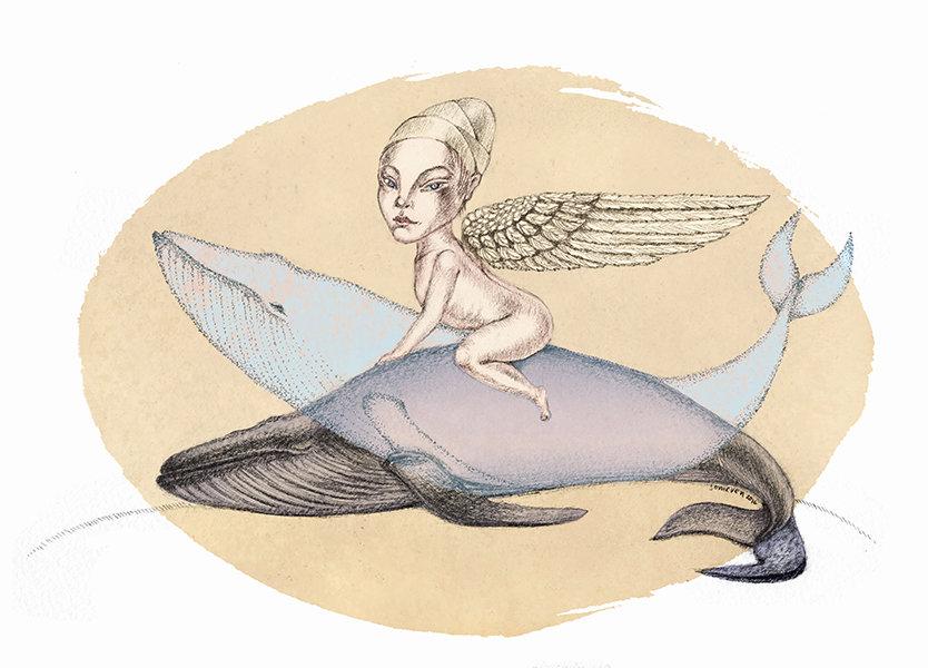 Верхом на ките, эзотерическая