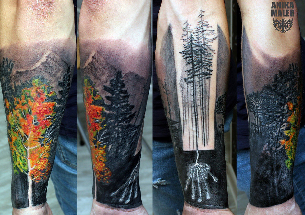 Project «Inspiration. Autumn» all I love - #forest #mountains #colors #мойарт #живопись #цвет #blacкandgray #моёвидение #лес #горы #татуировка #татуировкаекатеринбург #татумастер #созидание #творчество #tattoart #art #tattoo #tattoowork #tattooartist #hawkpentattoomachine #cheyanne #anikamaler #malertattoo #вместемысила #ростиразвитие #силатату #слюбовью
