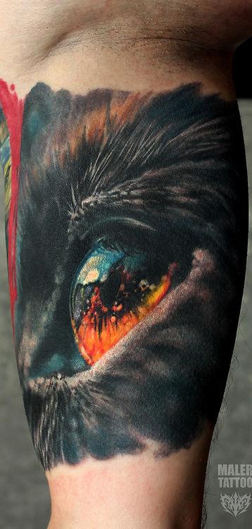 Тату 2018, Павел Maler, maler tattoo style, #MalerTattooStyle #MalerTattoo #MTRealism #IntenzePride