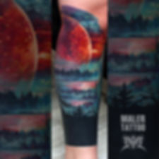 Работа 2017, Модель Гарик 😎 #пейзаж #лес #силатату #tattoo #tattoos #inksociety #tattooed #art #тату #татуировка #татуировкаекатеринбург #malertattoo #ink #малертату #eternalink #tattoorussia #tattoopower #instagram #ekb #tattoolife #ekbtattoo #tattooist #cheyennetattooequipment #inktattoo #hawkpen #hawkpentattoomachine #worldfamousink