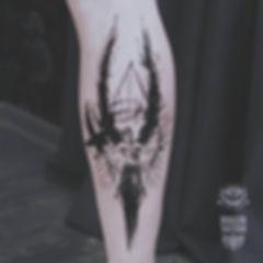 Ангел-хранитель для мужественного Алексея! Спасибо, Алексей!😇 #anastasiasalem #salemtattoo #malertattoo #tattoo #angel #angeltattoo #onlyblackart #darkartists #graphictattoo #blackart #blackandwhite #blackwork #tattooartist #татумастерица #татуекатеринбург