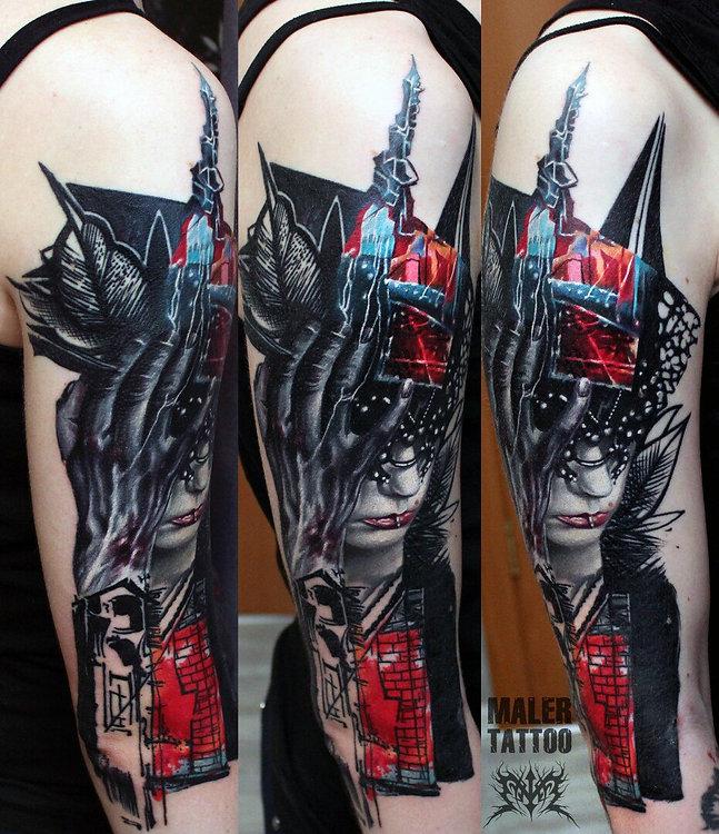 Свежая работа 2017  #MalerTattooStyle #IntenzePride #силатату #tattoo #tattoos #inksociety #tattooed #art #тату #татуировка #татуировкаекатеринбург #malertattoo #ink #малертату #eternalink #tattoorussia #tattoopower #instagram #ekb #tattoolife #ekbtattoo #tattooist #cheyennetattooequipment #inktattoo #hawkpen #hawkpentattoomachine #worldfamousink