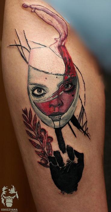 obozzyanaИ я счастлива, Ирина сделала тату по моему головному маразму!!! А вы еще что-то думаете))) 1 session, 5 hours  п.с. Морозов Паша, про твои предложения я вспомнила поздно, ты прав ! Дополню, при возможности))) #tattooartist #art #artwork #tattoo #мастертату #арт #тату #эскизтату #sketchtattoo #tats #tattoos #tattooing #tattooist #tattoomodel #tattoodesign #tattooart #акварель #tattoo #tattoolife #ink #like4like #tattoolife #tattooekb #follow4follow #татуекб #татуекатеринбург #utf