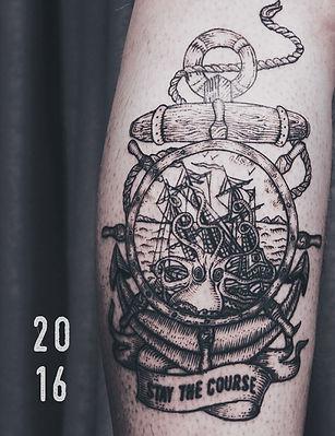 Каталог татуировок в графике 2016