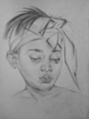 Черно белый карандаш, портрет, эскиз, тату эскизы