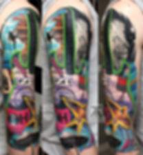 "Очередной индивидуальный проект от Павла Maler 2018 года в процессе, название фрагмента - ""Аnything Нelps""! #MalerProject #МалерСтиль #МалерПроект #МалерМагия #MalerTattooStyle #malertattoo #MalerTattooStudio #MTRealism #PavelMaler #ПавелМалер #intenzetattooink #ПавелМеренков #IntenzePride #eternalink #tattooanatom #cheyennetattooequipment #spektraedgex #TTECH"