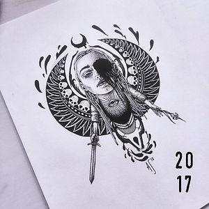 эскизы, тату скетчи екатеринбург, творчество 2017
