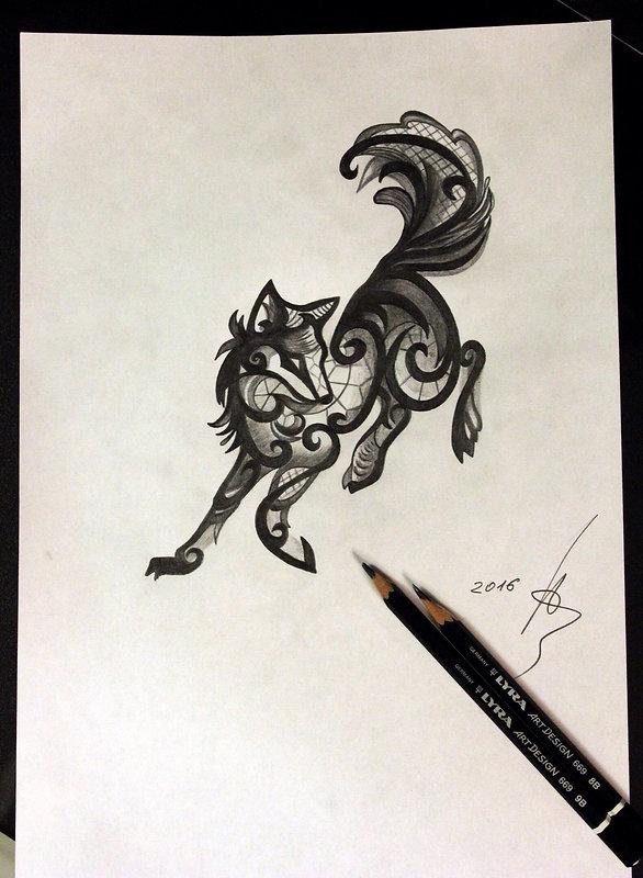 #эскизтату #лисичка #fox #рисую #бьютату #татуировка #тату #люблютату #artwork #tattooart #arttattoo #malertattoo #anikamaler #art #арт #слюбовью