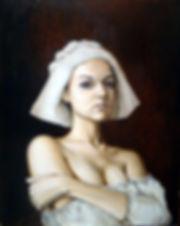 Холст масло, эскиз портрет, реализм