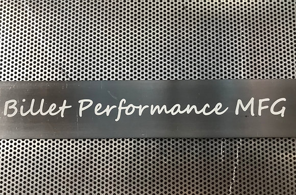 BILLET PERFORMANCE MFG STICKER