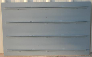 "48"" 4 Support Check Gate Shutters"