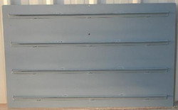 """48"""" 4 Support Check Gate Shutters"""