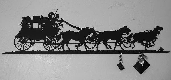 Stagecoach Key Rack