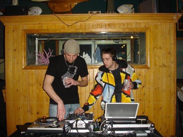 First Night DJing