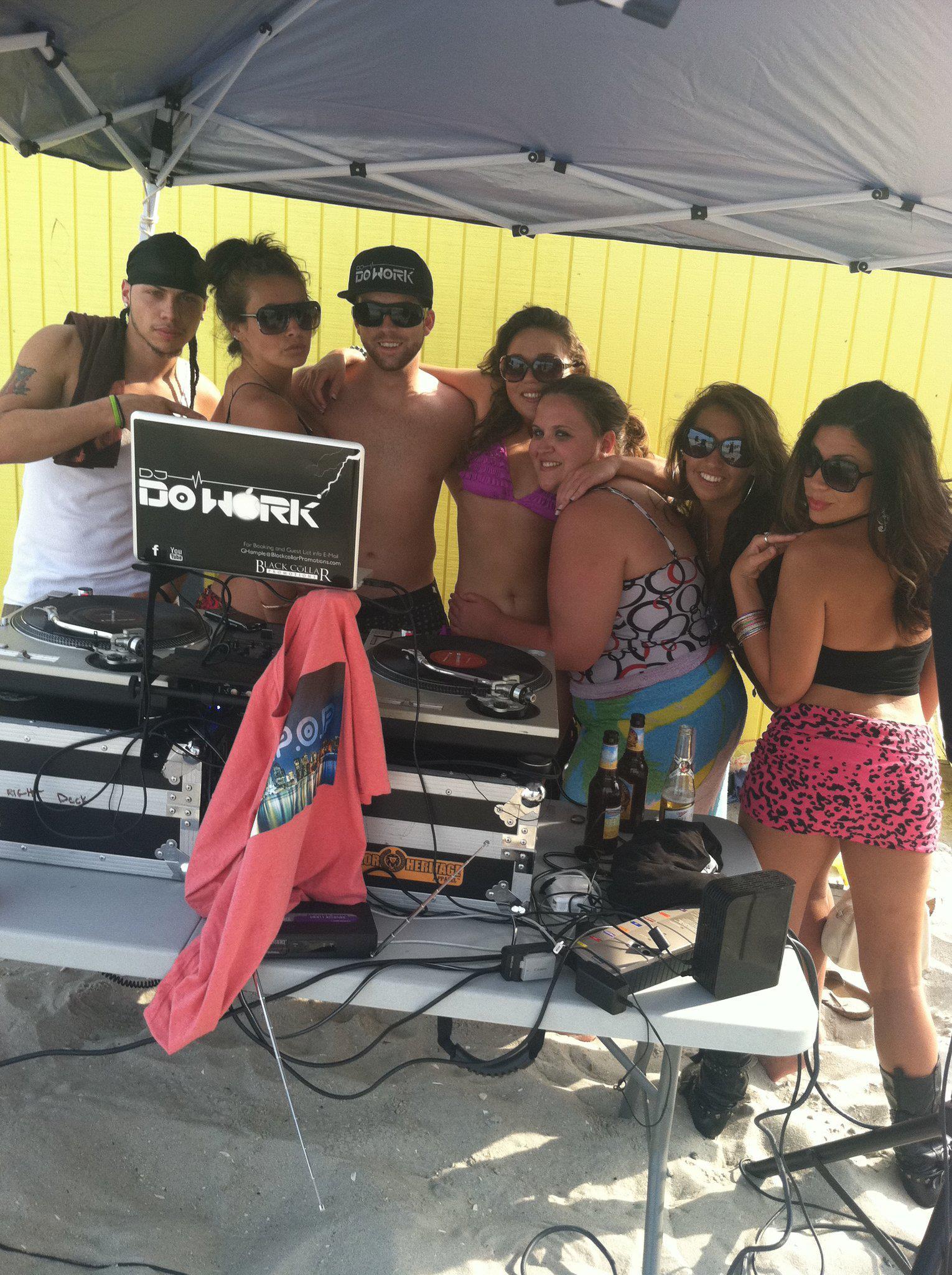Atlantic City Beach Party